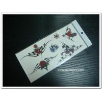 Temporary Body Tattoo Temporary flower tattoo sticker Manufactures