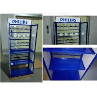 Metal Tube Frame Branded Display Stands With Customized Graphic Sign Versatility Manufactures