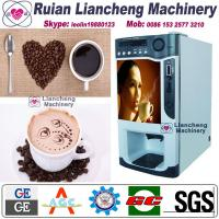 instant coffee and tea vending machine Bimetallic raw material 3/1 microcomputer Automatic Drip coin operated instant Manufactures