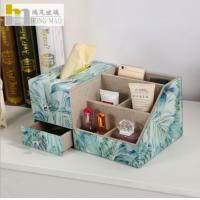 China Contemporary Desk Organizer Box Easy Storage For Watches / Jewelry on sale