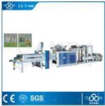 Single Line Nylon Bag Making Machine / Equipment PLC Control For Vest Carrier Bags Manufactures