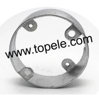 Buy cheap Electric Stainless Steel Conduit Fittings BS4568 Conduit Box Extension Rings from wholesalers