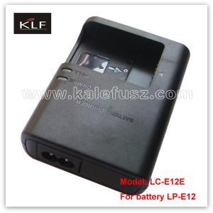 China Digital Camera Charger LC-E12E For Canon Battery LP-E12 on sale