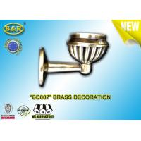 China Ref Number BD007 Brass Decoration Material Copper Alloy Tombstone Accessory Lampholder on sale