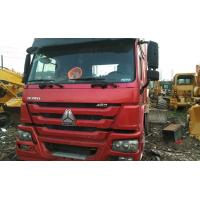 Red Color Howo 6x4 Tractor Truck Heavy Construction Work 6840x2496x3850mm Manufactures