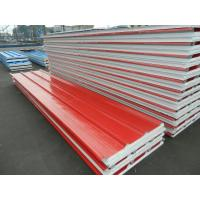 House PU Color Steel EPS Sandwich Wall Panels for Interior Exterior Manufactures