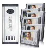 7 Inch Large Wired Villa Video Door Phone With Touch LCD Screen Manufactures