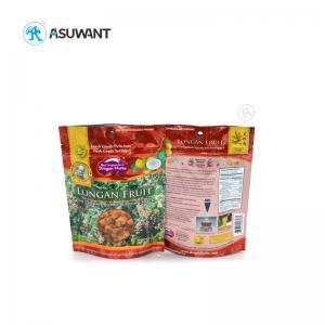 Custom Printed Food Packaging Bags Doypack Ziplock Reusable Plastic For Snacks Manufactures