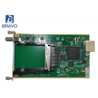 Demodulating And Descrambling Sub Card Hot Plug Digital Headend 2 Channel DVB - C Manufactures