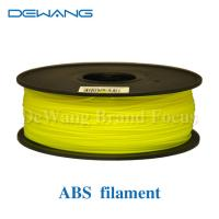 Multicolored 3D Printer Filament 1kg 2.2lb 1.75mm / 3.00mm ABS Material Manufactures