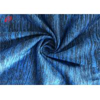 China Jerseys Melange Weft Knitted Fabric 100% Polyester Non - Stretch Plain Dyed on sale