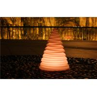 Tree Shape Outdoor Plastic Small LED Night Light Lamps Anti - UV Ir Remote Control Manufactures