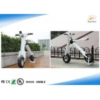 High Speed Folding Electric Scooter 30-35 Km Running Range With Big Led Lamp Manufactures