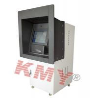 LCD ATM Wall Mounted Kiosk Machine With Cash Acceptor And Card Reader Manufactures