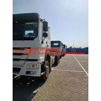 China Ethiopia Heavy Cargo Truck / Cargo Chassic Truck 6x4 10 Wheels Euro2 371hp on sale
