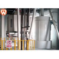 Easy Operation Poultry Feed Manufacturing Equipment 2 MM 4 MM With Cooler Hammer
