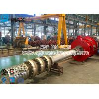 Firefighting Use Cast Iron Bearing Housing Multistage Vertical Turbine Fire Pump Sets With 1000 Usgpm Manufactures