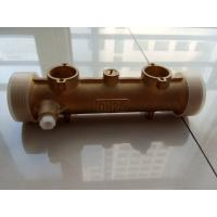 Household Ultrasonic Heat Meter Parts Brass Meter Body DN15mm - DN40mm Manufactures