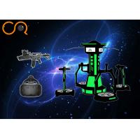 Multi Directional Virtual Reality Treadmill With Motion Platform , 4m*4m*3m Size Manufactures