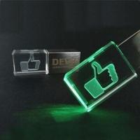 Attractive and Elegant Crystal USB Flash Drives with 256MB to 32GB Capacity Optional, 2yrs Warranty Manufactures