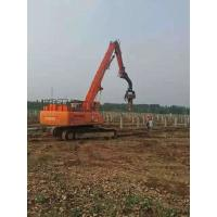 Accurate Solar Pile Driver , Photovoltaic Series Vibro Machine For Sheet Pile Manufactures