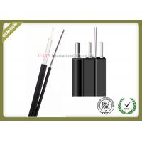 Buy cheap Light Weight FTTH Aerial Drop Cable Novel Flute With Non - Metal Strength Member from wholesalers