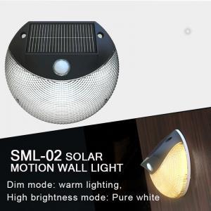 China Solar Motion Sensor Light for outdoor lighting, Solar wall light, solar garden light with sensor on sale