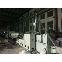 315 - 630mm PVC Drainge Pipe Extrusion Line With SJ92 Twin Screw Extruder Manufactures