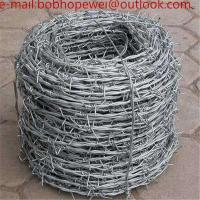 China barbed wire/barbed wire fence/barbed wire for sale/wire fence/barbed wire price/ bob wire/ buy barbed wire on sale