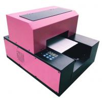 Mini A3/ A4 UV Flatbed Printer , PVC Card Flatbed 3d Embossing A3 Uv Printer Manufactures
