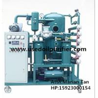 ZJA Double-Stage Vacuum Transformer Oil and Insulation Oil Purification Plant Manufactures