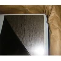 High quality construction material embossed gold 1.2mm stainless steel sheet contract distributor retailer wholesaler Manufactures
