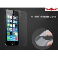 Thinnest 0.1MM 9H US German Schott Tempered Glass Screen Protector For Iphone 5/5C/5S Manufactures