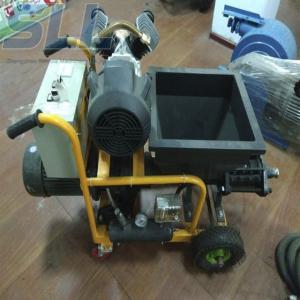China SLW-150 Automatic Cement Mortar Spraying Machine 180m2/h Cement Spray Plaster Machine on sale
