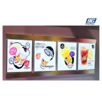 Multiple Screen Combined Led Menu Light Box  Crystal LED Lighting For Restaurant Manufactures