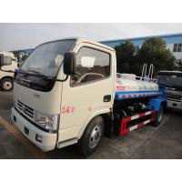 China new cheapest dongfeng 5m3 water tank truck for sale, 2017s factory sale best price dongfeng 5,000L cistern truck Manufactures