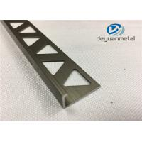 6063-T5 Polishing Bronze Aluminium Extrusion Profile Round Edge Aluminium Trim Manufactures