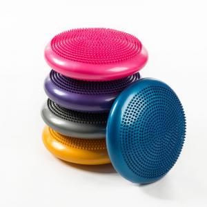 33cm PVC Balance Yoga Balls Massage Pad Wheel Stability Disc Massage Cushion Mat Manufactures