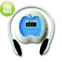 apple-shaped electronic fetal doppler monitor for user at home with headphone Wholesale price with figure dispaly Manufactures