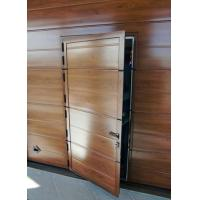 China Security sectional garage door on sale