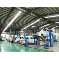 Car Repair Shops Steel Structure Architecture / Prefab Steel Buildings SGS Manufactures