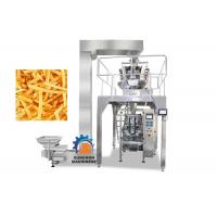 High Efficiency Vertical Automatic Packaging Machine For Popcorn , Snack Foods 1000ML Volume Manufactures