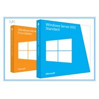 Microsoft Windows Server 2012 Versions Standard Edition 64bit 5 Clients Manufactures