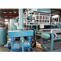China Electrostatic Spraying Pulp Egg Tray Making Machine For Egg Box / Egg Cartons on sale
