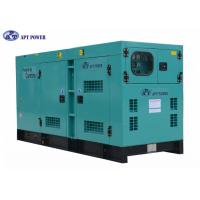 China Denyo Type Deisgn Cummins Diesel Generator for Mine , Rate Output 275kVA on sale