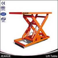 China 2000kg High Stability Hydraulic Lifting Immovable Electric Lift Table for Material Loading and Discharging on sale