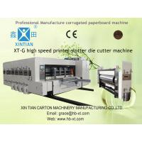 150pcs/min Automatic Corrugated Box Making Machine / Machinery With Automatic Feeder Manufactures