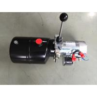 Forklift Single Acting Mini 12vdc Hydraulic Power Packs With Steel Tank Manufactures