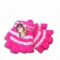 Gloves, Made of 100% Wool, Customized Designs are Accepted, Ideal for Children Manufactures