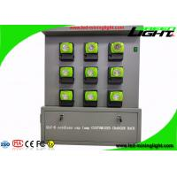China GLC-6 Cordless Cap Lamp Mining Hard Hat Lights Charging Rack With 18 Units Double Side on sale